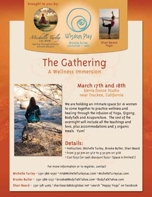 The Gathering Wellness Immersion retreat